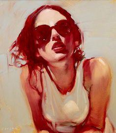 Artist Micheal Carson Oil On Canvas
