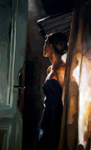 Der Blick Edward B. Gordon, oil on canvas, 2013