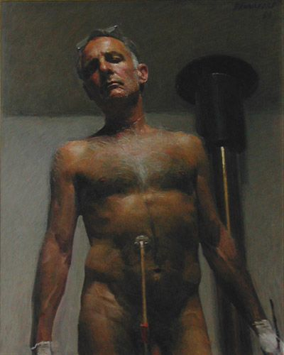 Robert Hannaford, Self Portrait