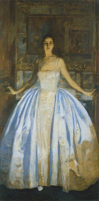 ETTORE TITO Contessa Malacrida,1926 , olio